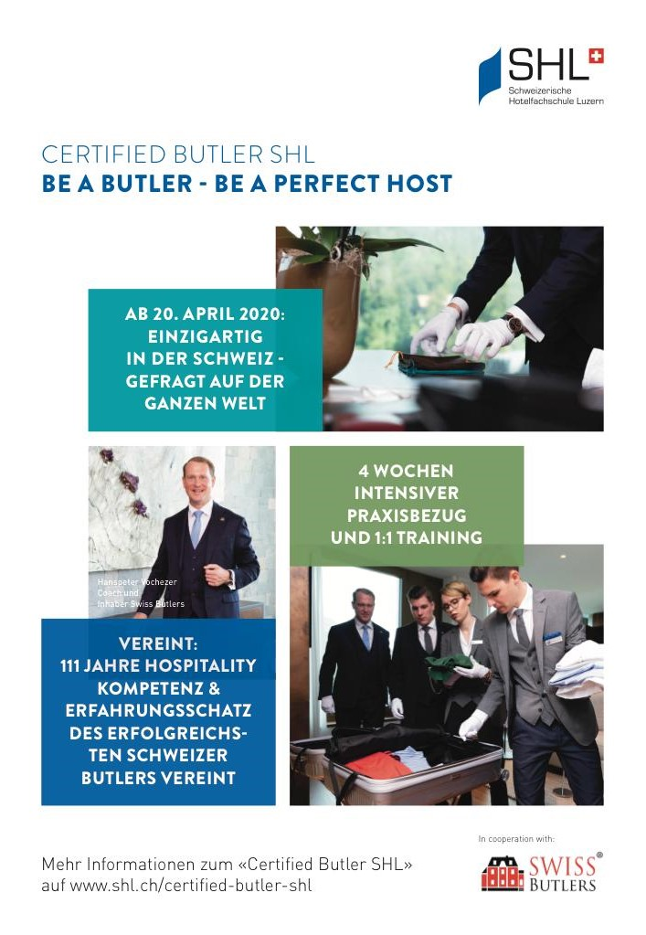Flyer Certified Butler SHL